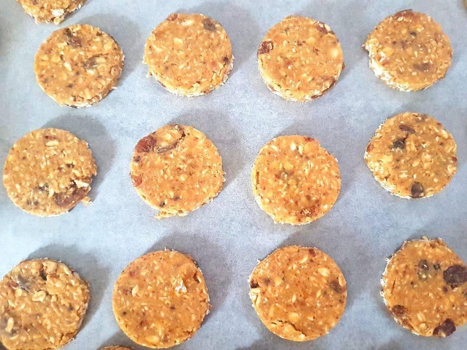 Biscotti grancereale - su placca da forno