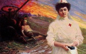 croce rossa: regina Elena