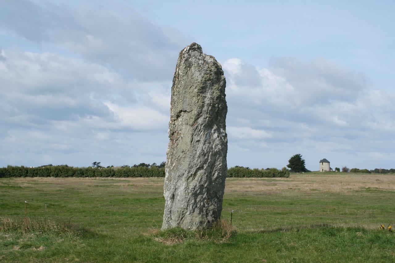 il mistero di Borzonasca - Esempio di Menhir, pietra simile al monolite di Borzonasca