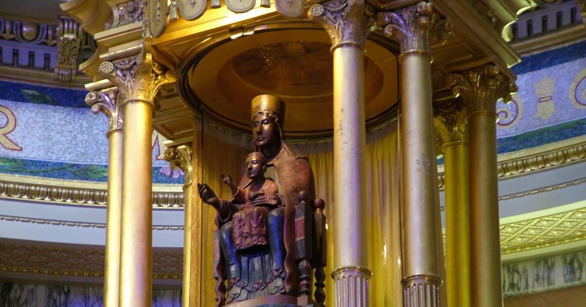 Santuario della Madonna di Tindari - La Madonna Nera di Tindari