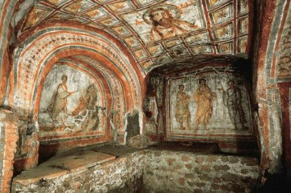le catacombe san callisto