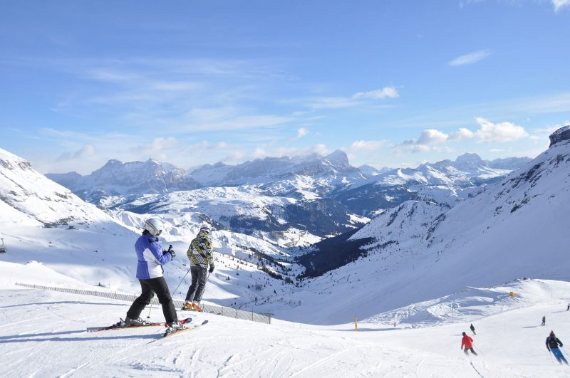 sciare Val di Fassa