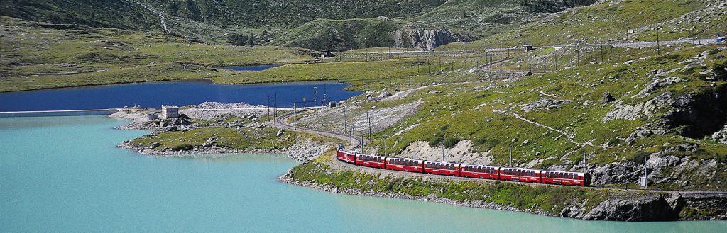Valtellina - Il Trenino Rosso del Bernina
