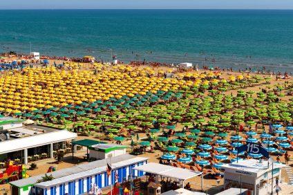 Lidi e spiagge attrezzate di Rimini