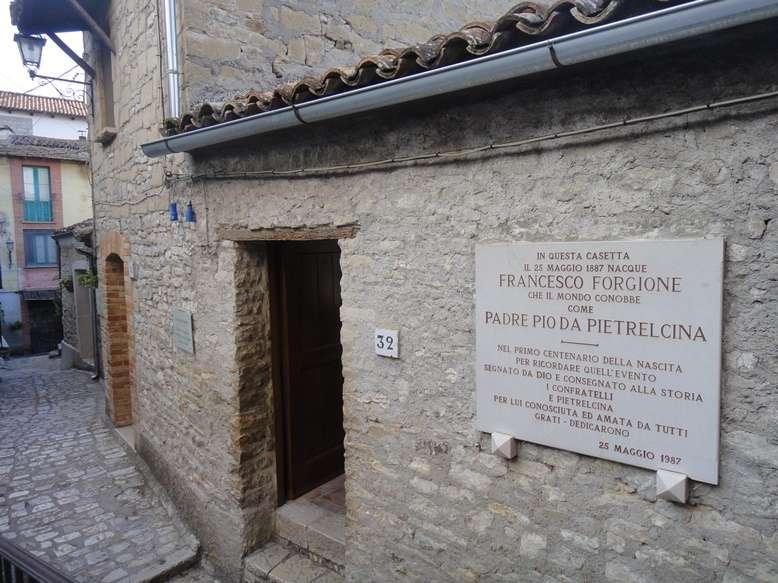 Padre Pio da Pietrelcina, casa natale