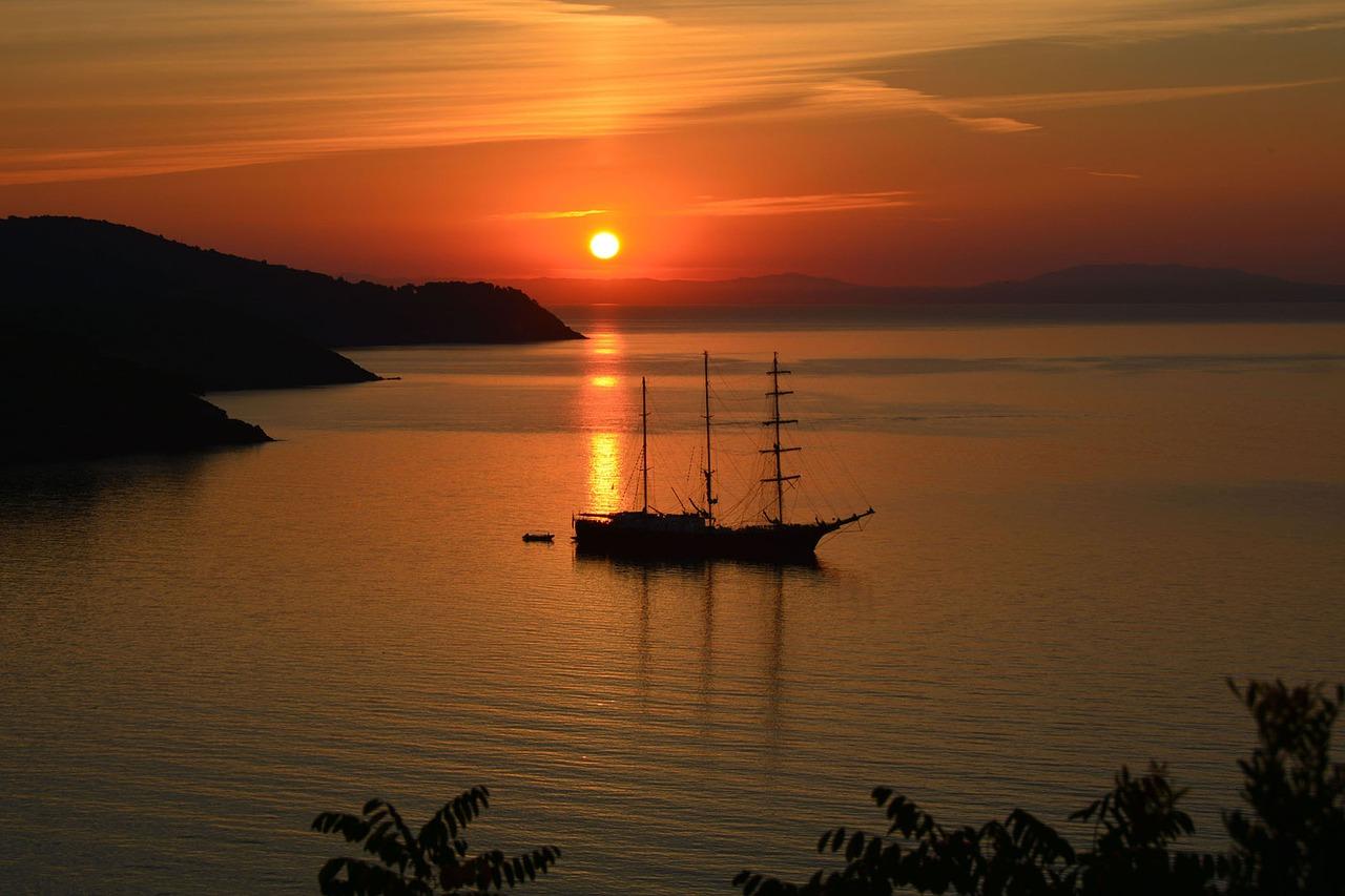 isola d'elba - tramonto