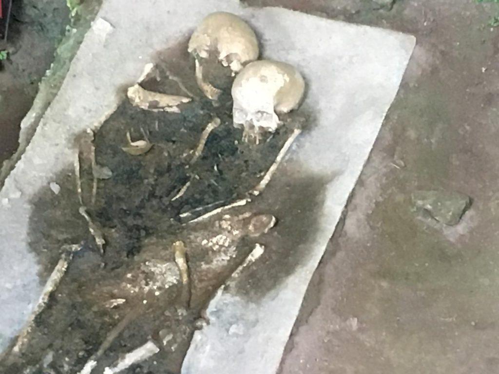 Grotta - Resti umani rinvenuti