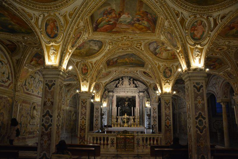 Salerno, cripta di San Matteo