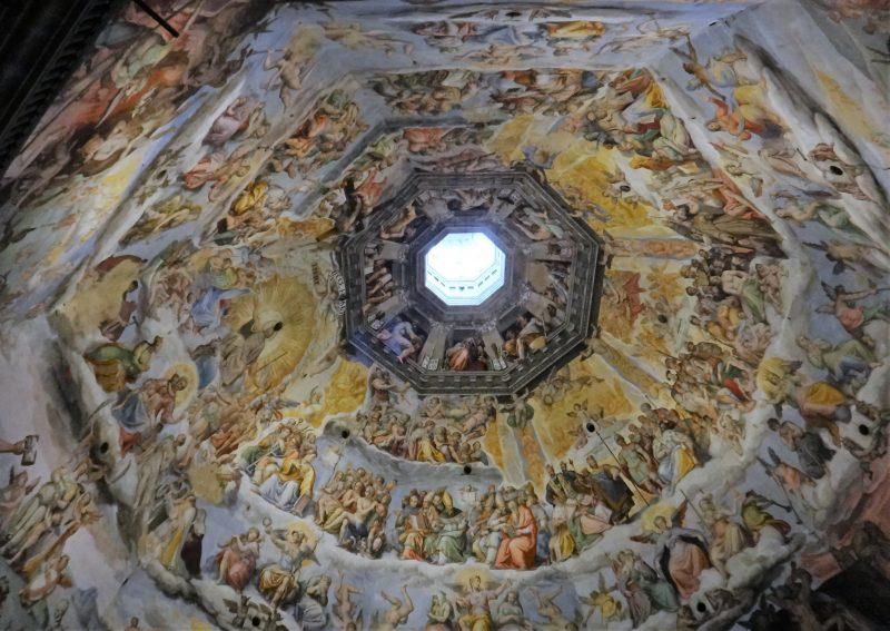 Il Giudizio Universale Vasari Cupola Brunelleschi