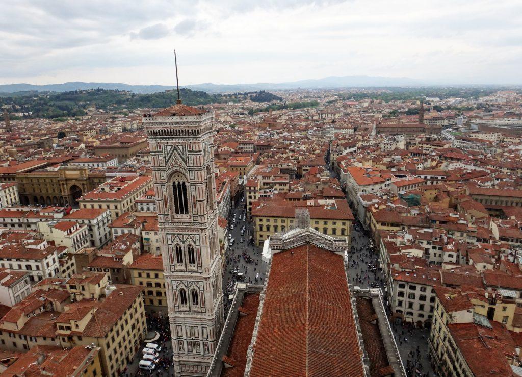 Vista dalla Cupola del Brunelleschi Firenze