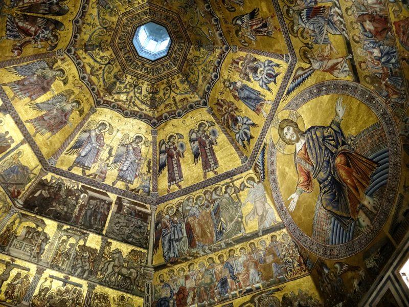Cupola mosaico Battistero San Giovanni Firenze