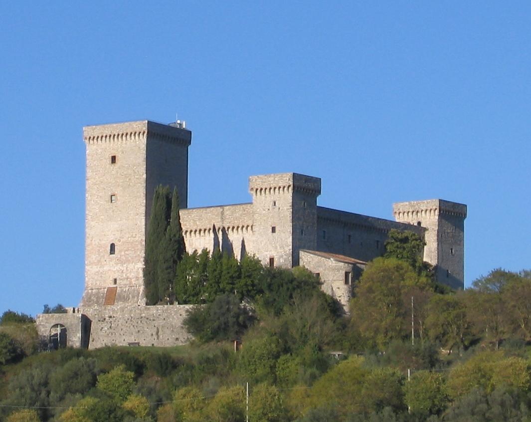 Borgo di Narni - La splendida Rocca di Narni