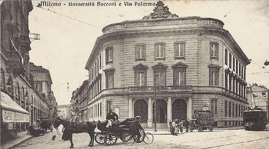 Prima sede dell'Università Bocconi di Milano, a Via Palermo