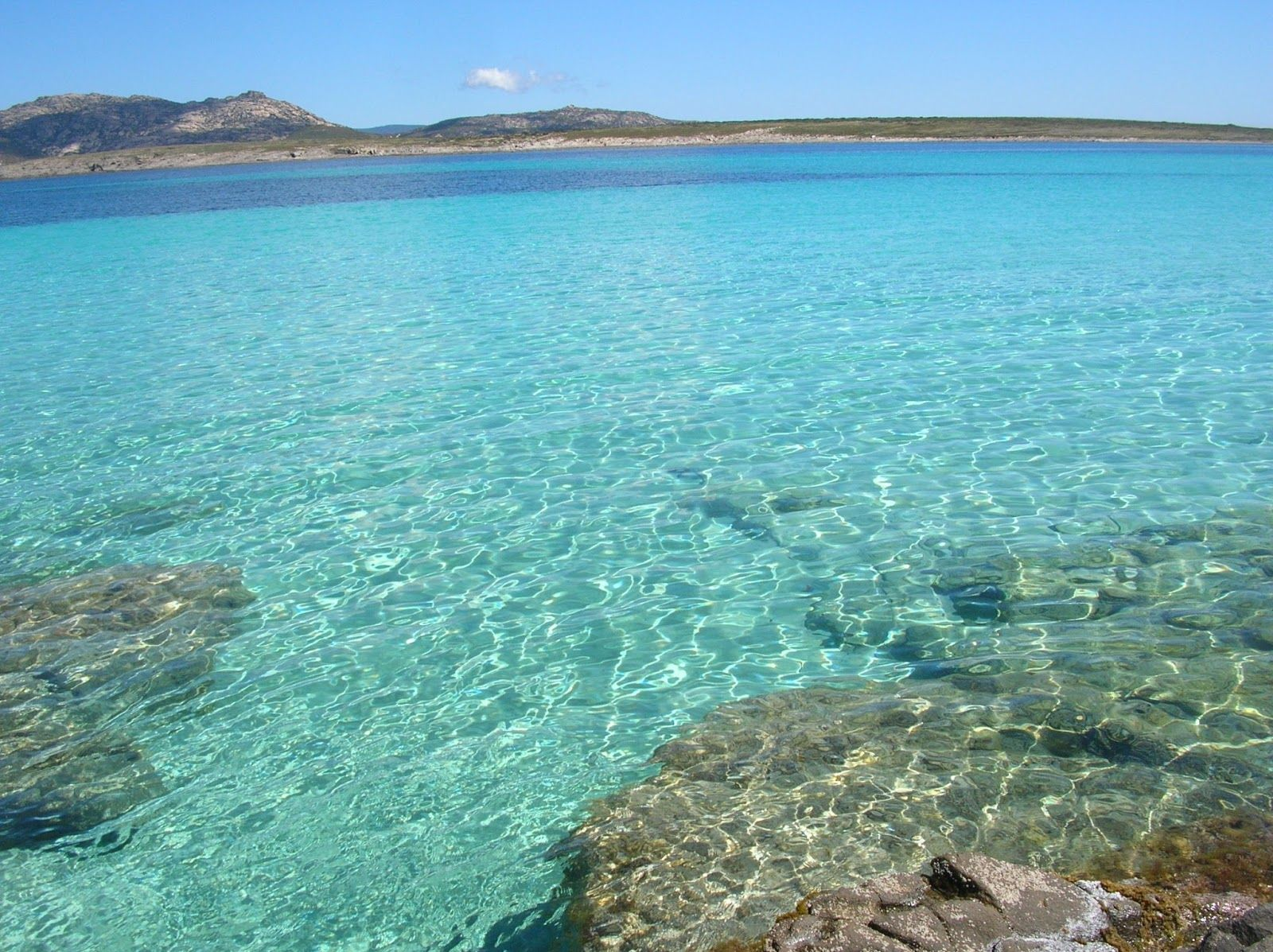 Lo splendido mare della Sardegna
