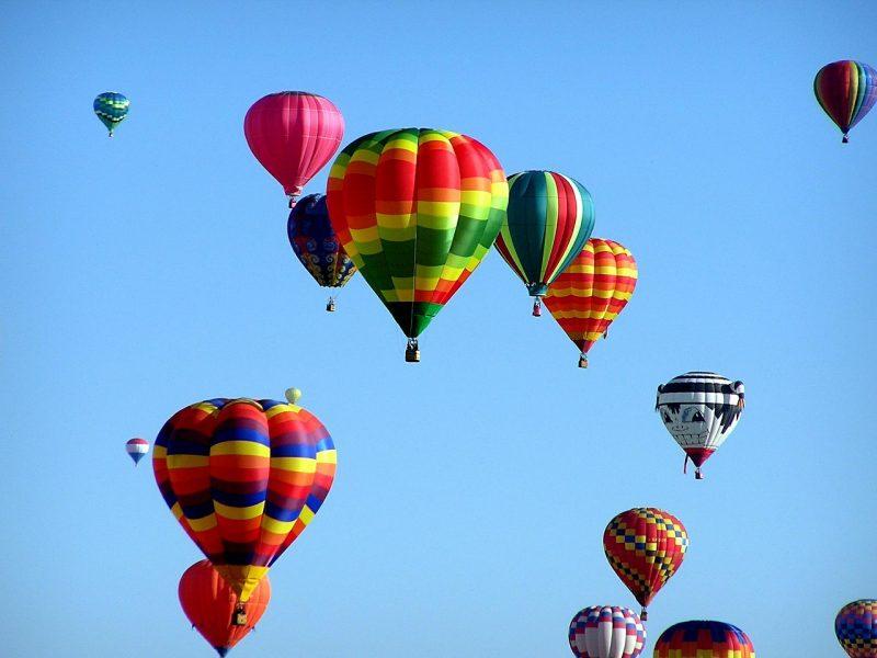 Festival delle Mongolfiere a Firenze - volo delle mongolfiere