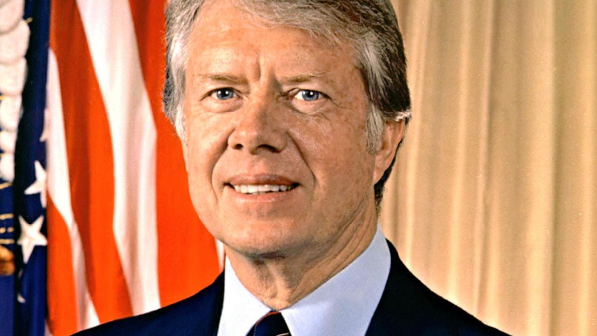 Festa dei nonni - Il presidente degli Stati Uniti Jimmy Carter