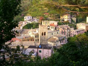 veduta del borgo di Monterosso