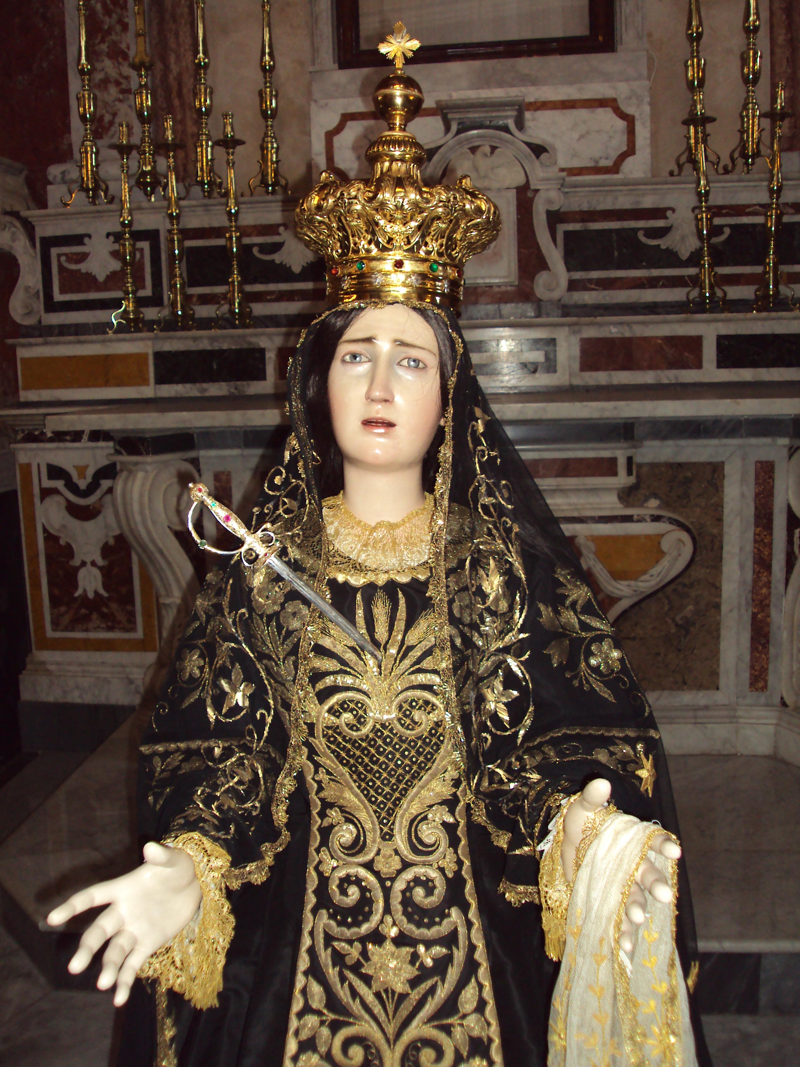 Madonna del Rosario - Madonna Addolorata di Castellaneta
