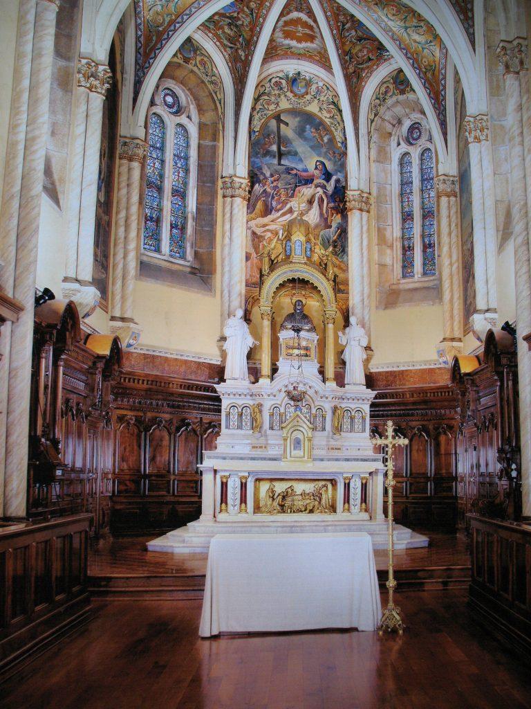 Certosa di Serra San Bruno - la cappella