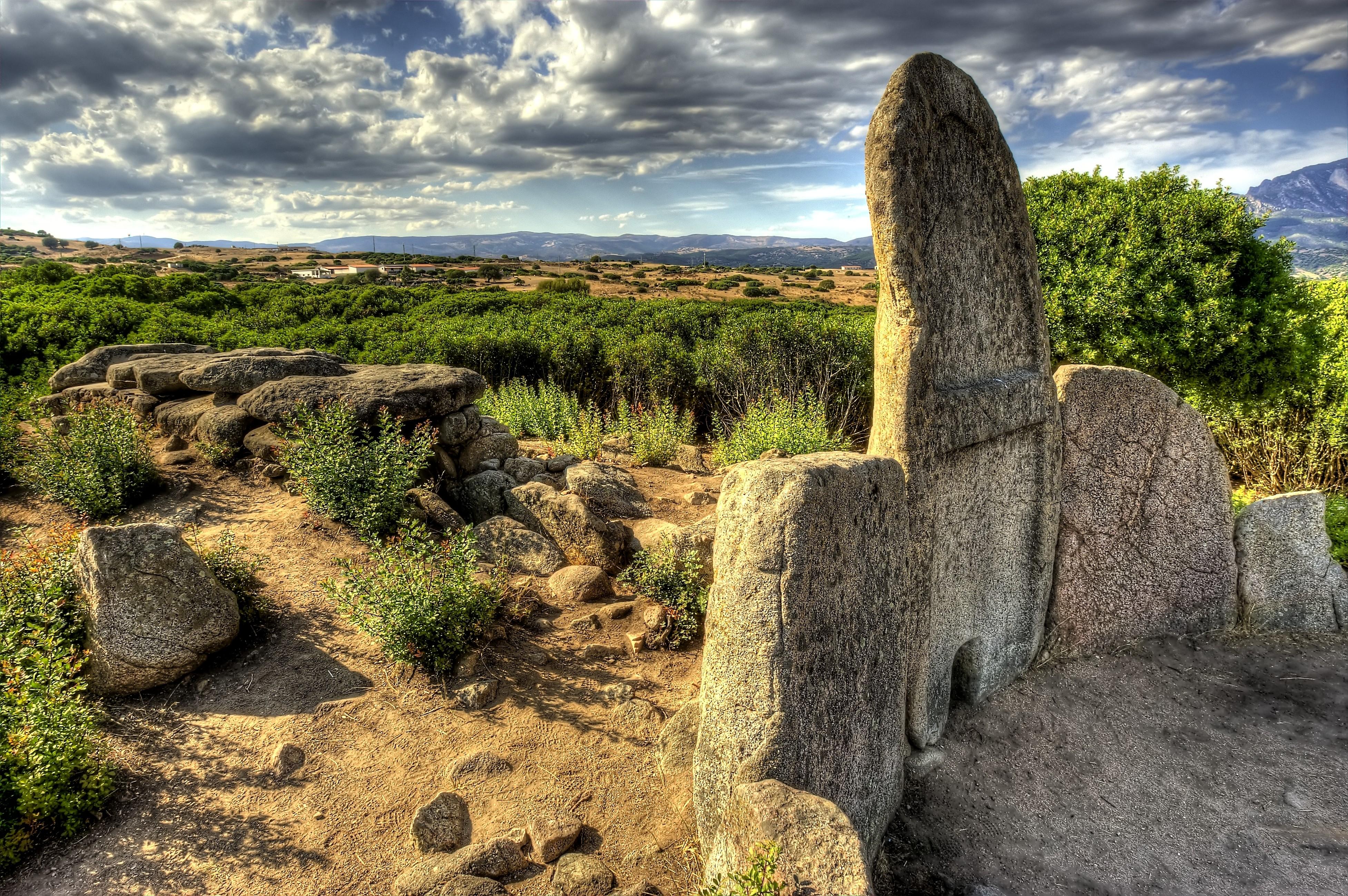 Tomba dei Giganti - panoramica