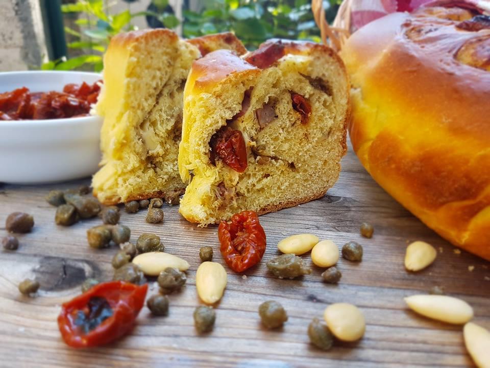 Angelica salata mediterranea - fatta di torta salata