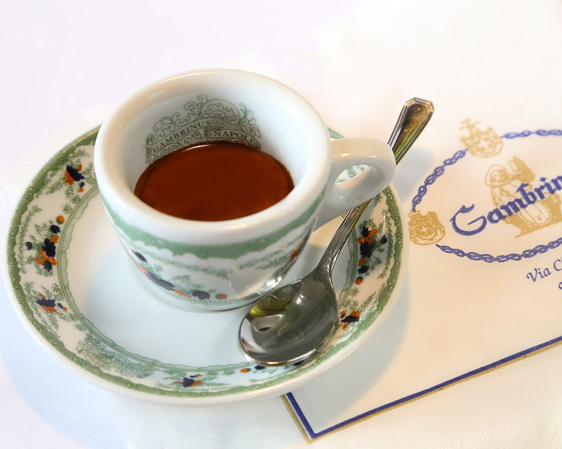 Caffè al Gambrinus - tazzina con caffè