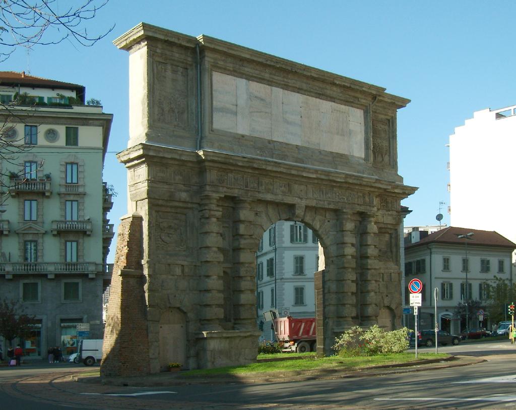 Porta Romana a Milano