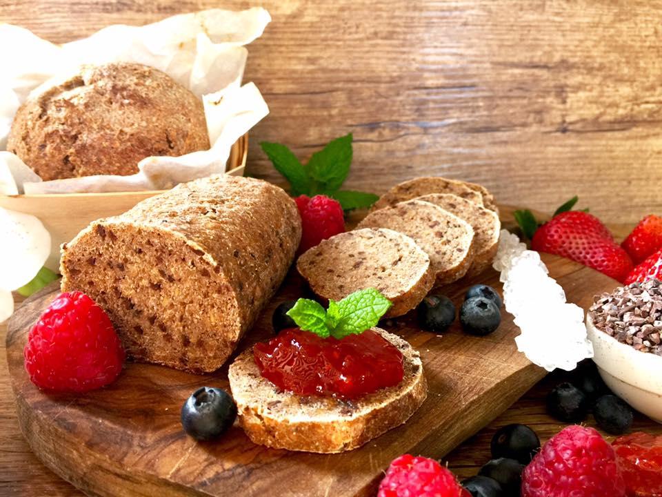 Pane di segale al cruè di cacao