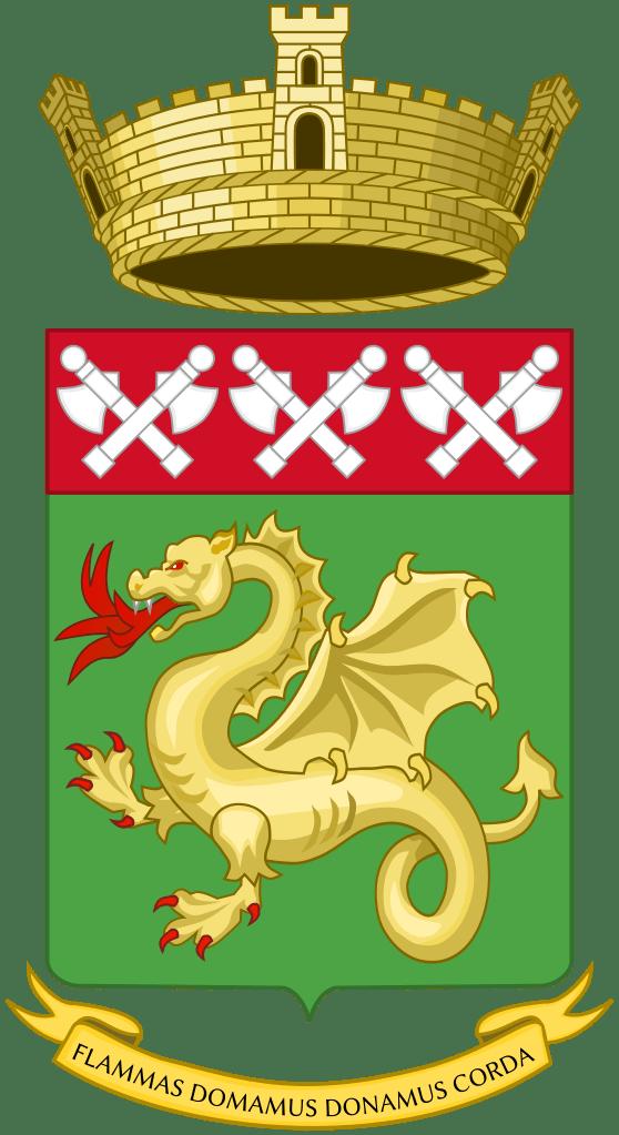 Santa Barbara - stemma dei vigili del fuoco