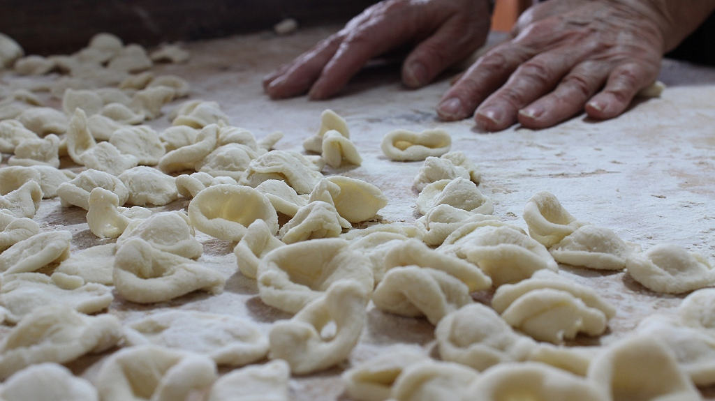 tortellante - preparazione della pasta