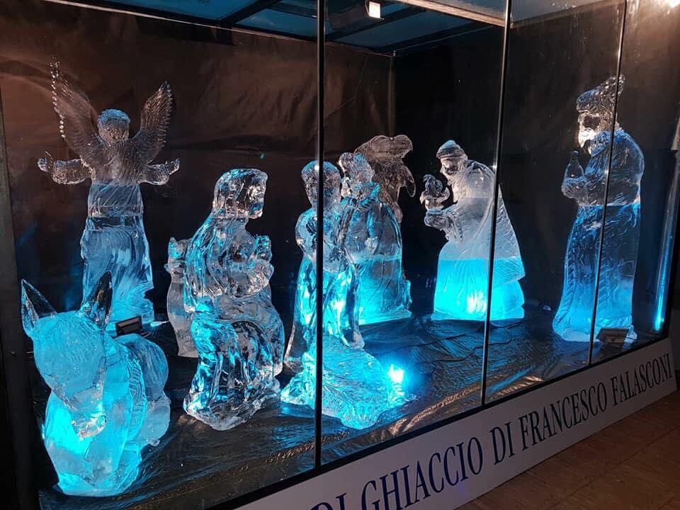 Natale-il presepe di ghiaccio di Matera