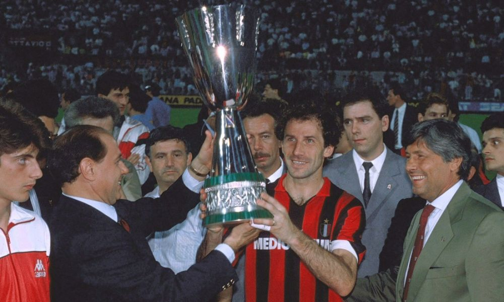 Milan - Supercoppa italiana 1988