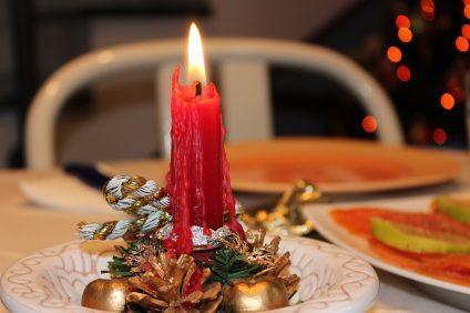 La tavola delle feste per Natale