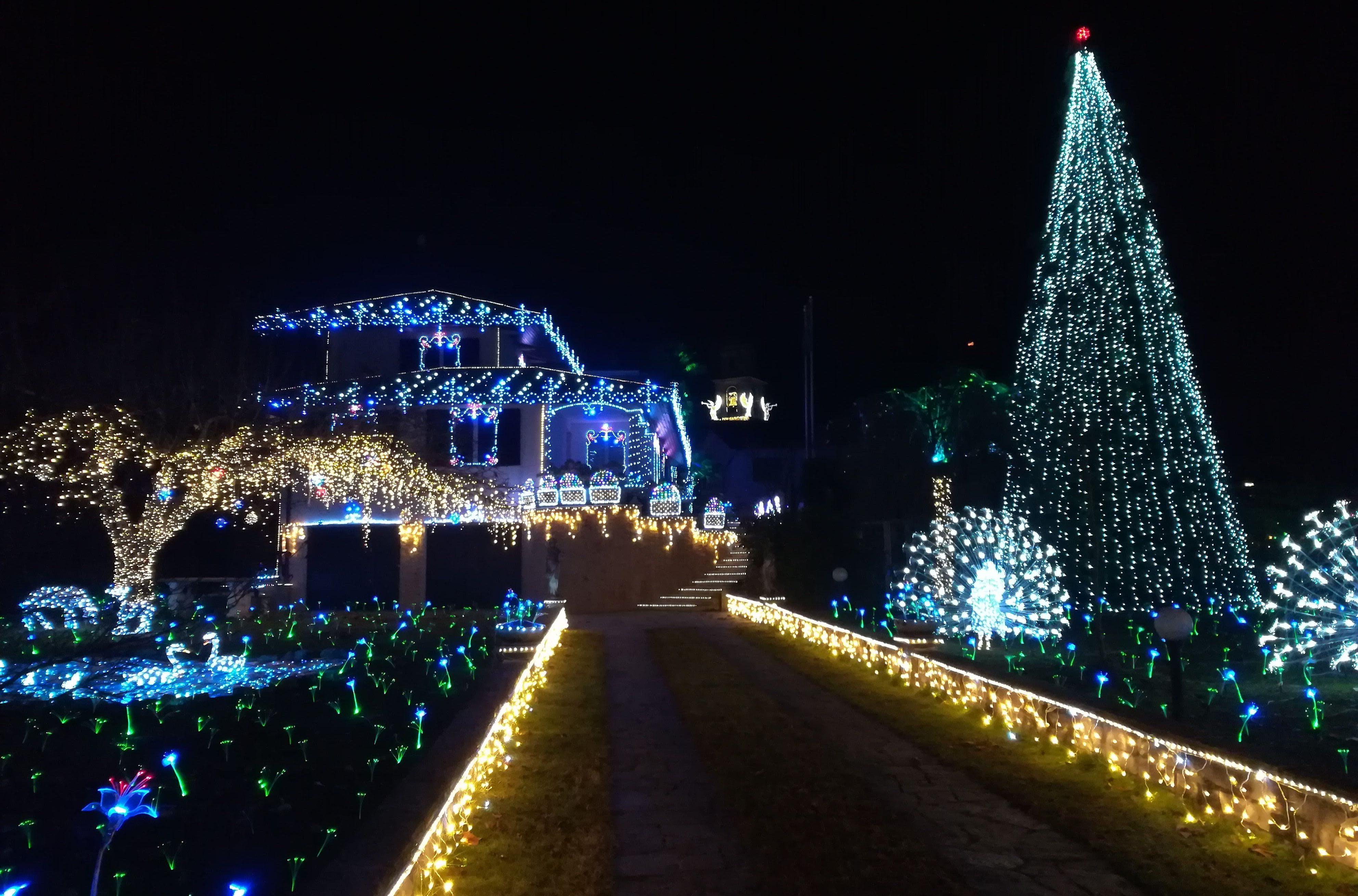 Lucine casa illuminata