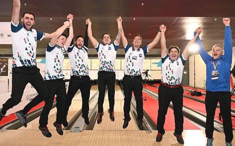 Italia campione del mondo di bowling