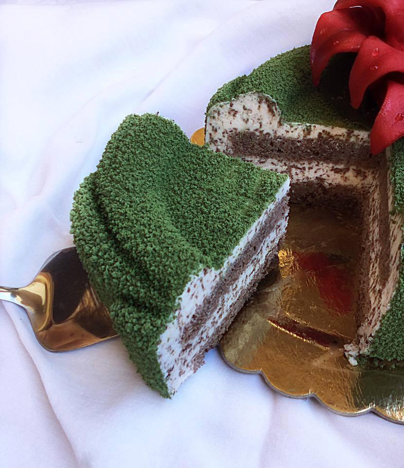 Torta Natalizia - fetta