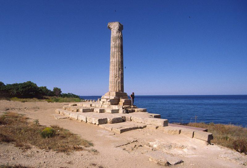 museo archeologico di Reggio Calabria - colonna