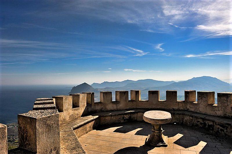 aquaman sicilia - Panorama dal belvedere di Erice