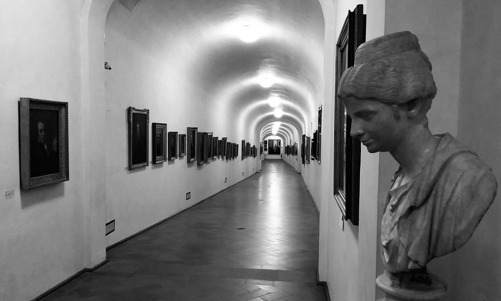 Interni del Corridoio Vasariano