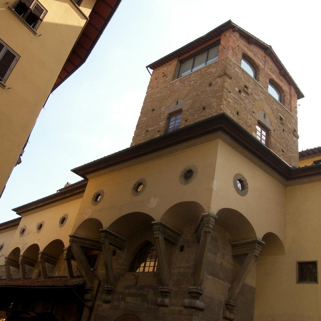 Corridoio Vasariano - Aggiramento Torre Mannelli