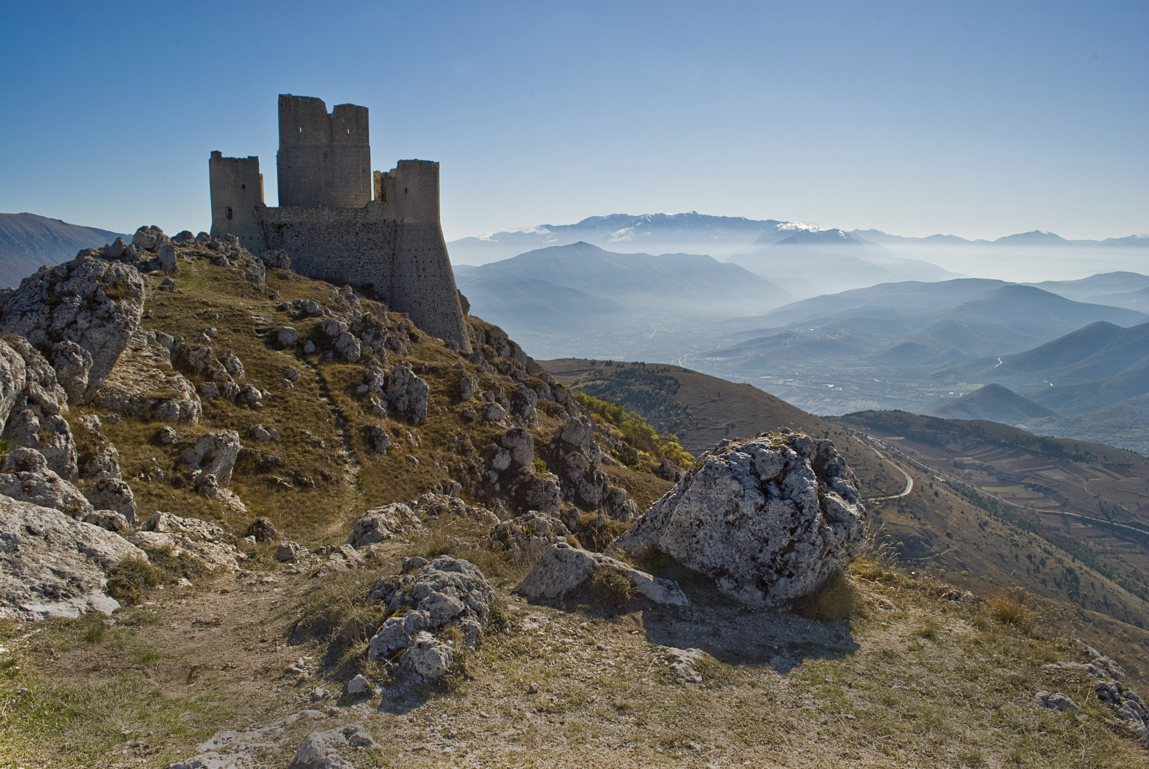 Rocca Calascio. Veduta paesaggio