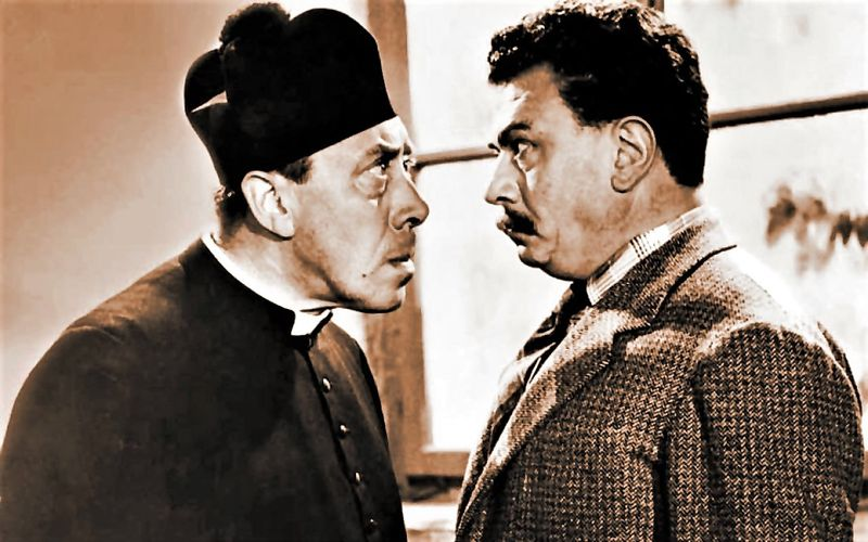 Blasphemy in Italy - Don Camillo and the honorable Peppone