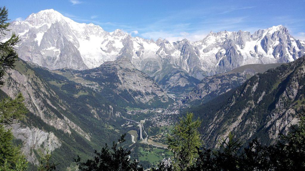 Monte Bianco - montagne di Courmayeur