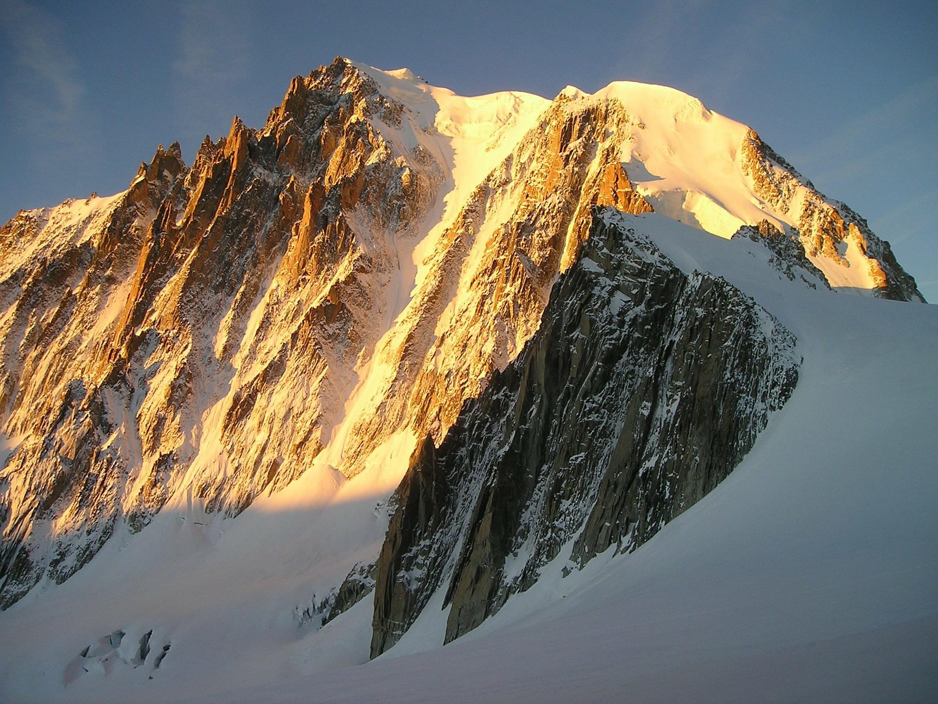 Monte Bianco, vetta