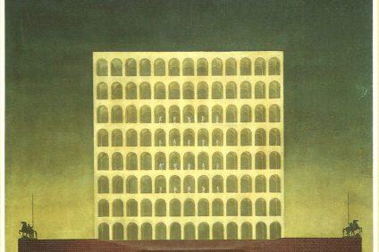 Architettura Razionalista - immagine di quadro