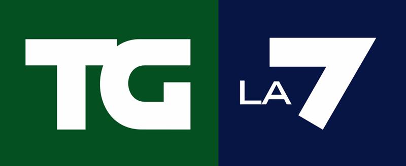 Enrico Mentana - logo tg LA7