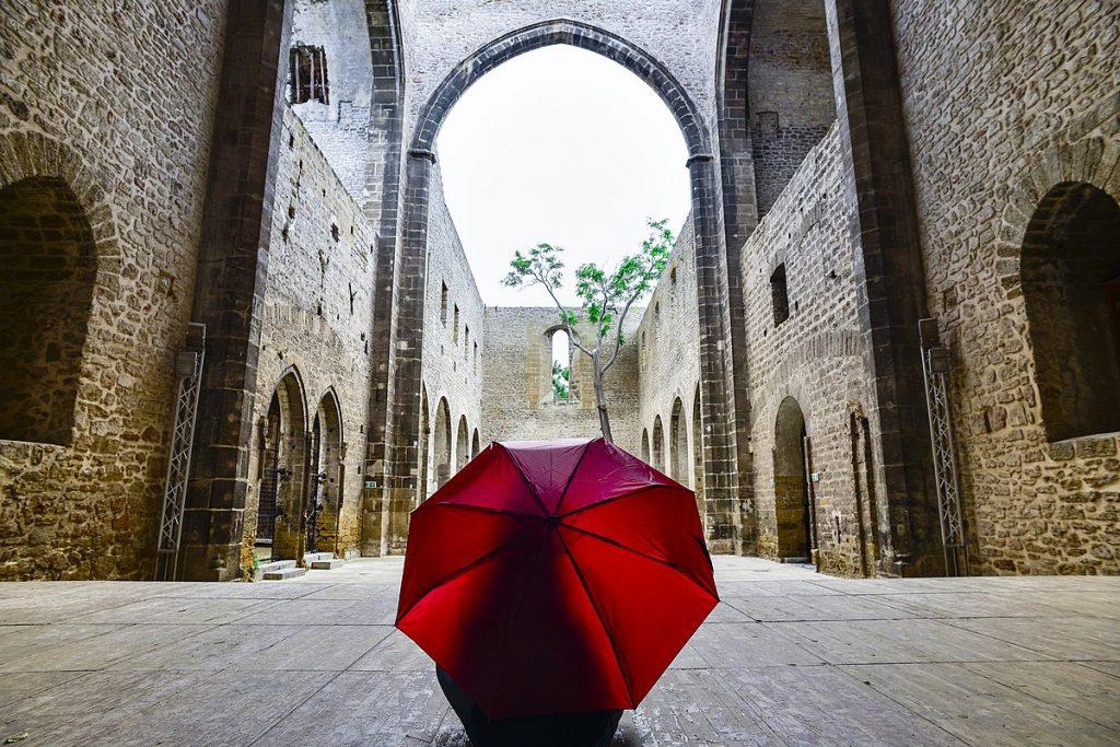 Palermo - interno della Chiesa dello Spasimo