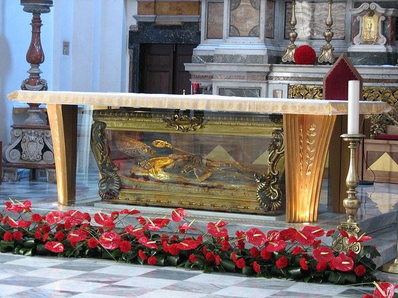 san valentino - spoglie del santo