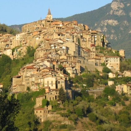 Apricale - sunny country on the mountain