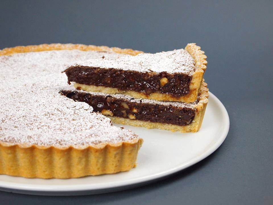 torta Brownie in frolla finita